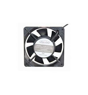 MARXLOW 120x120x25 AC 220V Kare Fan
