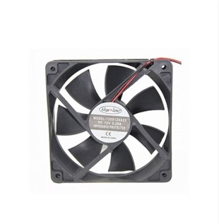 MARXLOW 120x120x25 DC 12V Kare Fan