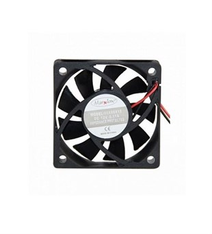 MARXLOW 60x60x25 DC 12V Kare Fan