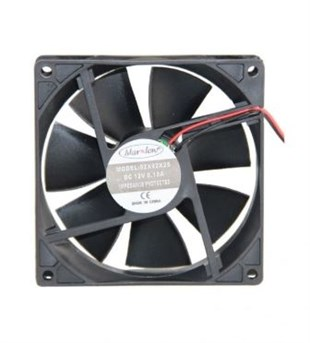MARXLOW 92x92x25 DC 12V Kare Fan