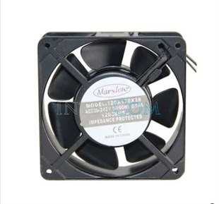 MARXLOW 120x120x38 AC 220V Kare Fan