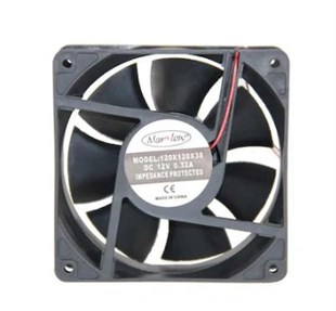 MARXLOW120x120x38 DC 12V Kare Fan